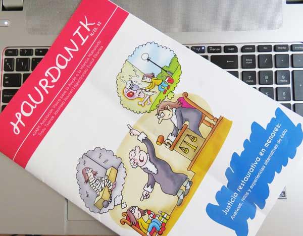 Revista Haurdanik de AVAIM Asociacion Vasca para la Ayuda de la Infancia Maltratada