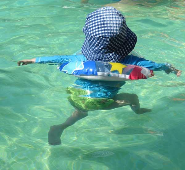 matronatación, natación para bebés