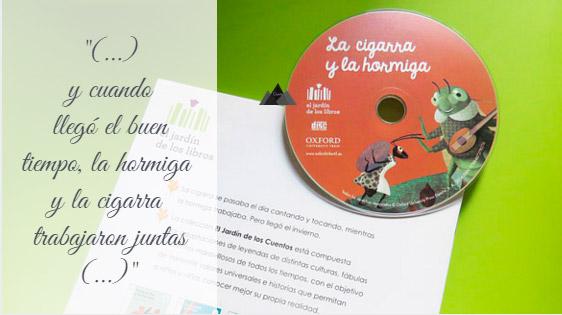 """CD audio """"La cigarra y la hormiga"""""""