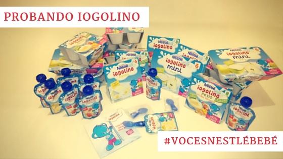 Iogolino de Nestlé Bebé, el envío completo
