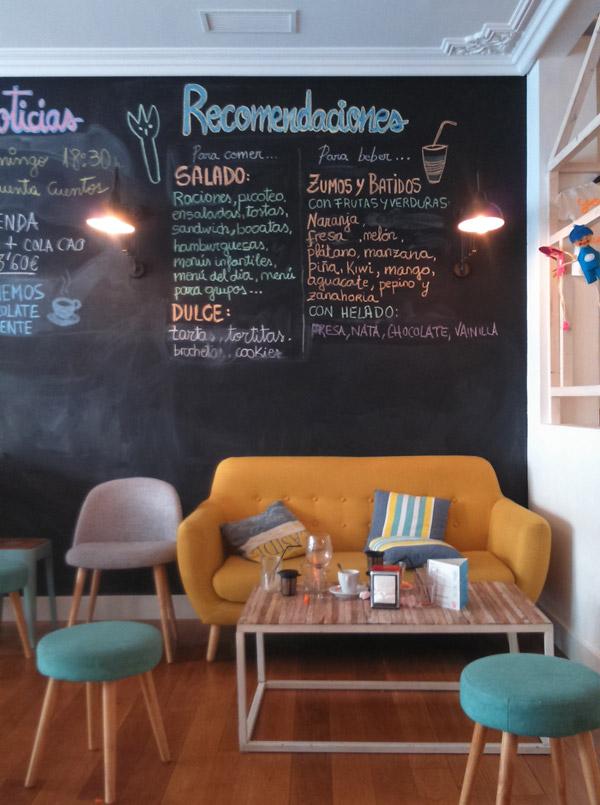 Un día en Potxolito, bar cafetería de Irun 100%Kid´s friendly