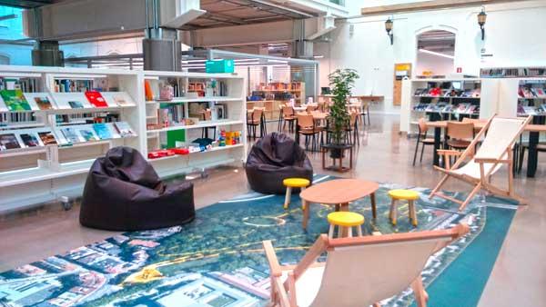 Una pequeña parte de Ubik en Tabakalera, Donostia