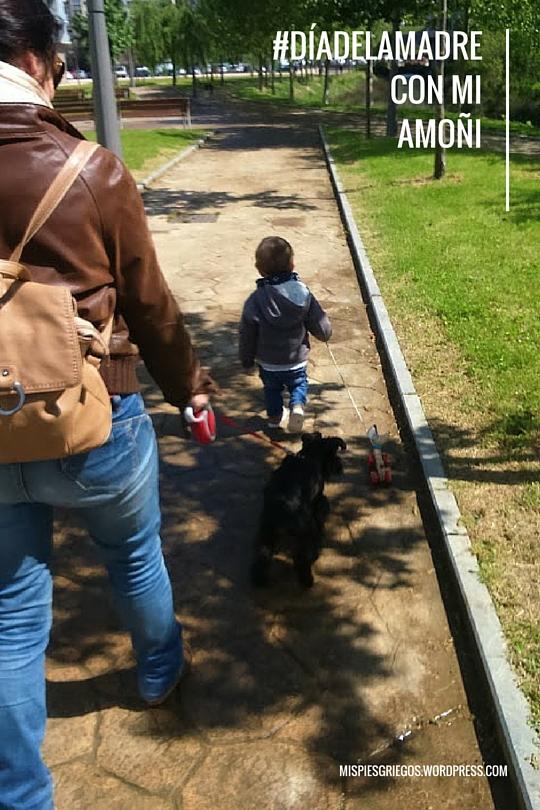 De paseo con la amoni
