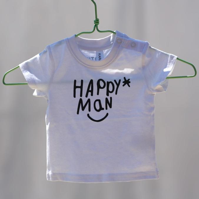 Camiseta bebé, también para niños y adultos