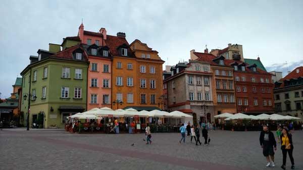 plac Zamkowy Stare Miasto