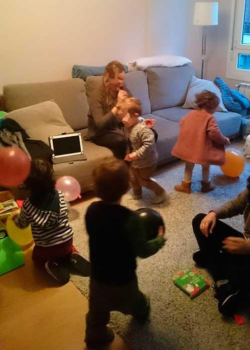Una fiesta sin globos no es una fiesta.