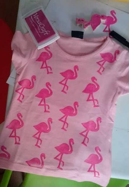 camiseta-flamencos-para-lucía-mispiesgriegos