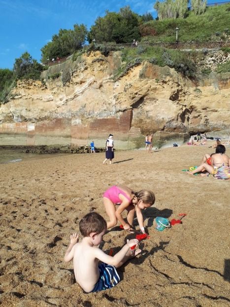 playa biarritz mispiesgreigos