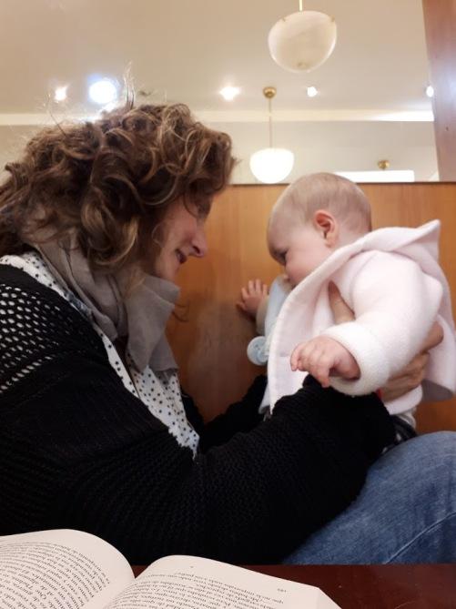 ariane y yo 5 meses