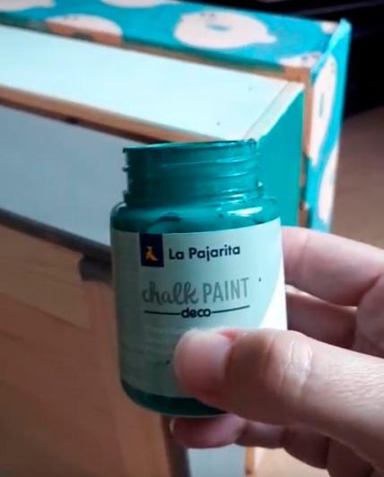 chalkpaint LA PAJARITA